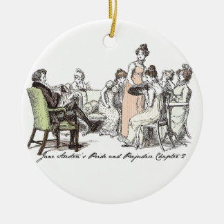 The Bennets of Longbourn - Jane Austen's P&P Ceramic Ornament