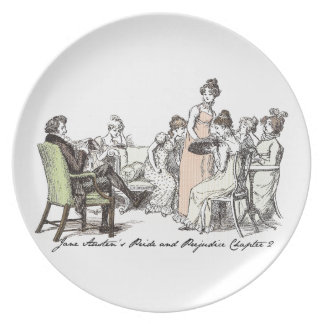 The Bennets of Longbourn - Jane Austen's P&P Party Plates
