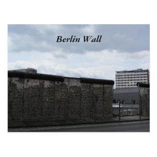 The Berlin Wall Postcard