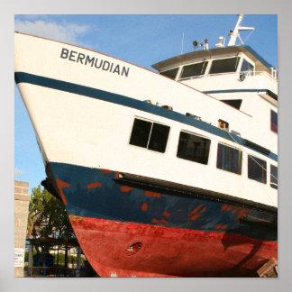 The Bermudian print