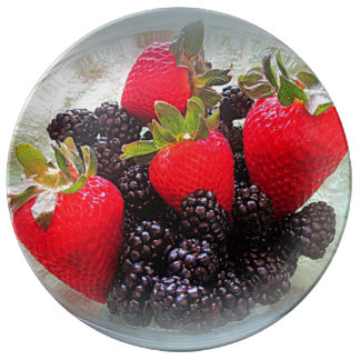 """The Berries"" Plate"