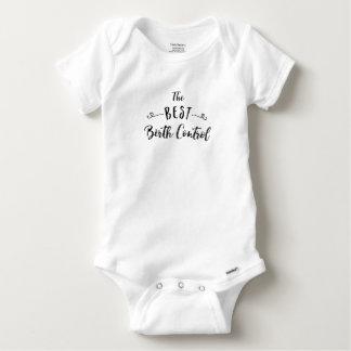 The Best Birth Control Gender Neutral Baby Shirt