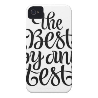 THE BEST BY ANY TEST iPhone 4 COVER