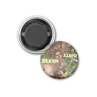 The Best Clean and Dirty Dishes Magnet