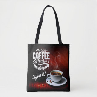 The Best Coffee House in Town Tote Bag