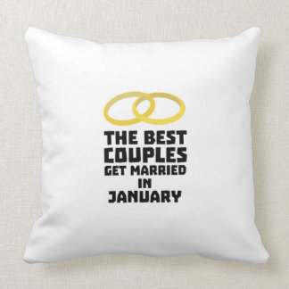 The Best Couples in JANUARY Z00xc Throw Pillow