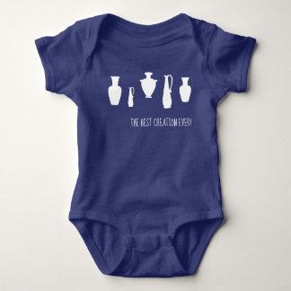 The Best Creation Ever Greek Vases Baby Bodysuit