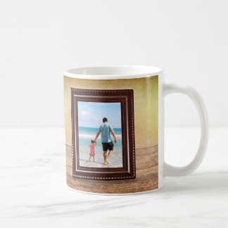 The Best Dad - framed editable photo & text Coffee Mug
