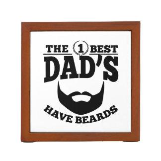 The Best Dad's Have Beards Desk Organizer