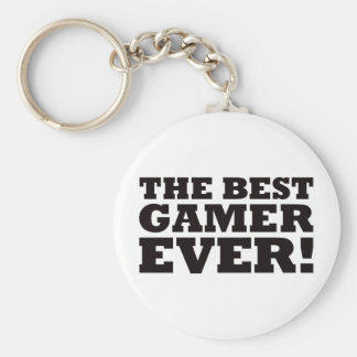 The Best Gamer Ever Keychain