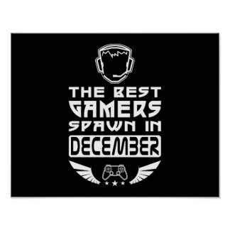 The Best Gamers Spawn in December Poster