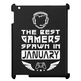 The Best Gamers Spawn in January iPad Cases