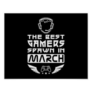 The Best Gamers Spawn in March Poster