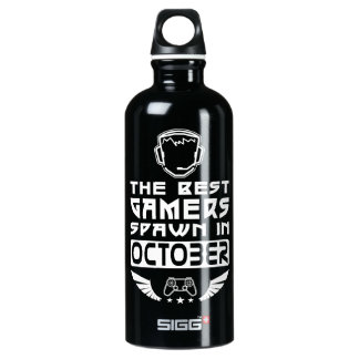 The Best Gamers Spawn in October Water Bottle