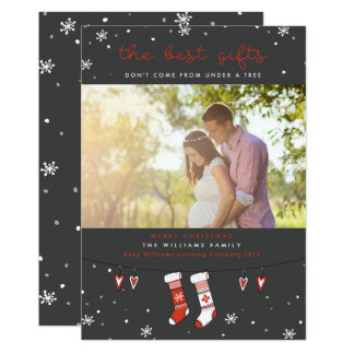 The Best Gifts Pregnancy Christmas Cards