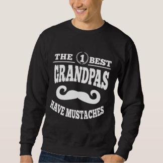 The Best Grandpas Have Mustaches Sweatshirt