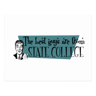 The best guys are from State College Postcard