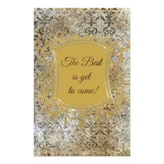 The Best is Yet to Come, Tassel on Frame Stationery Paper