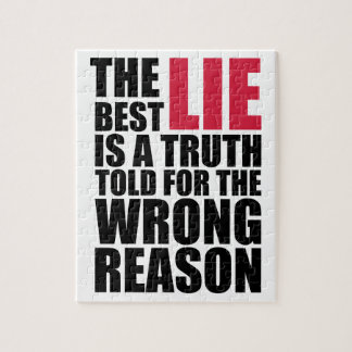 The Best Lie Jigsaw Puzzle