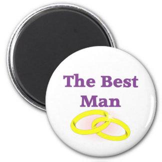 The Best Man 2 Inch Round Magnet