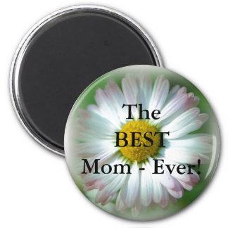 The Best Mom Button 2 Inch Round Magnet