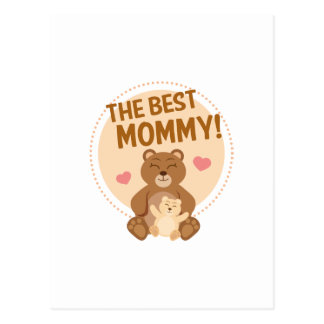 The Best Mommy Postcard