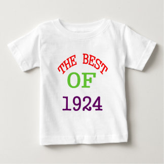 The Best OF 1924 Baby T-Shirt