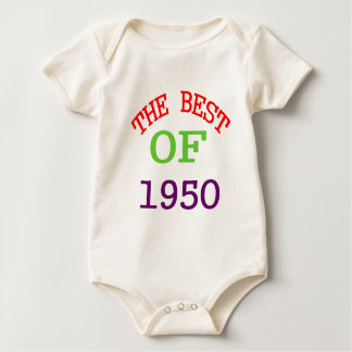 The Best OF 1950 Baby Bodysuit