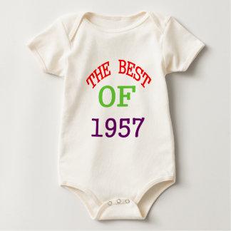 The Best OF 1957 Baby Bodysuit