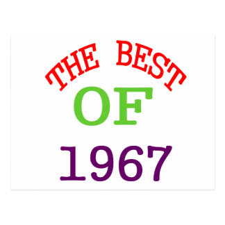 The Best OF 1967 Postcard
