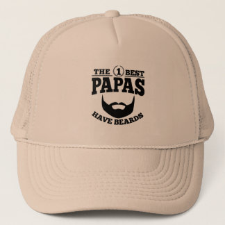 The Best Papas Have Beards Trucker Hat