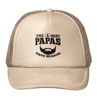 The Best Papas Have Beards Trucker Hat