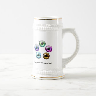 The Best Part of Waking Up.... Beer Stein