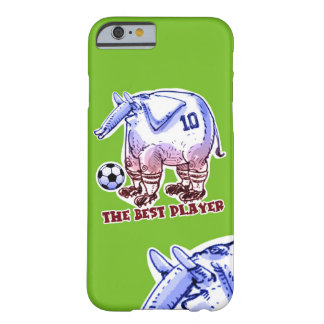 the best player elephant cartoon barely there iPhone 6 case