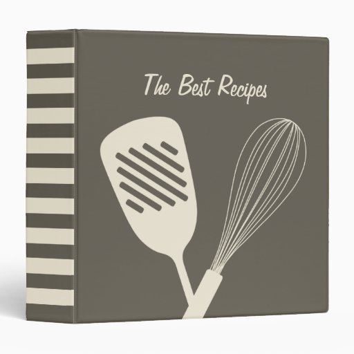 The Best Recipes Binder