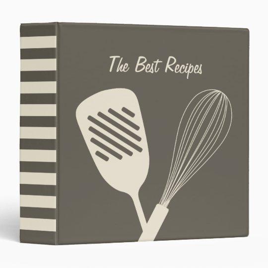 The Best Recipes Binder