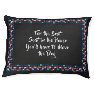 The Best Seat (For Dark Hair) Pet Bed
