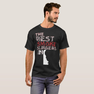 The Best Smoke Slingers In Delaware Barbecue T-Shirt