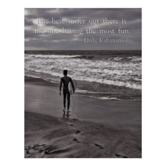 The best surfer out there print
