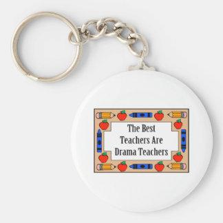 The Best Teachers Are Drama Teachers Keychain