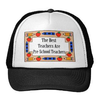The Best Teachers Are Pre-School Teachers Mesh Hat