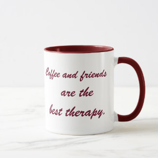 The Best Therapy     11 oz Ringer Mug