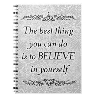 The best thing - Positive Quote´s Notebook