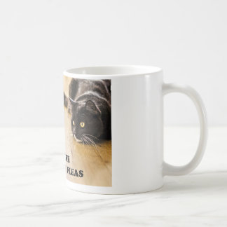 The Best Things In Life Have Fleas Cat Mug