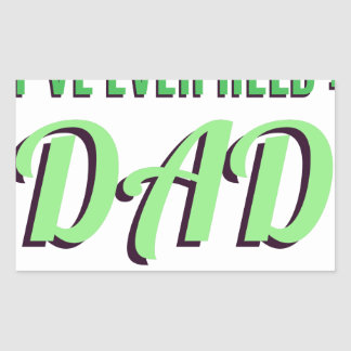 The Best Title I've Ever Held Is Dad Sticker