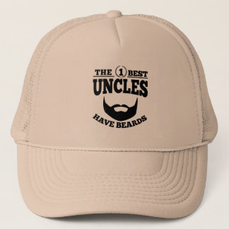 The Best Uncles Have Beards Trucker Hat