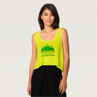 The Best View Comes After, the Hardest Climb Crop Tank Top