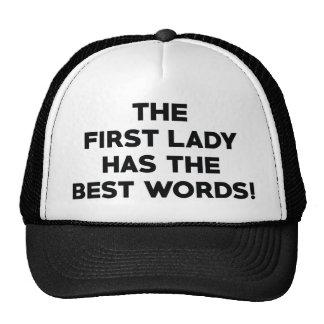 The Best Words Trucker Hat