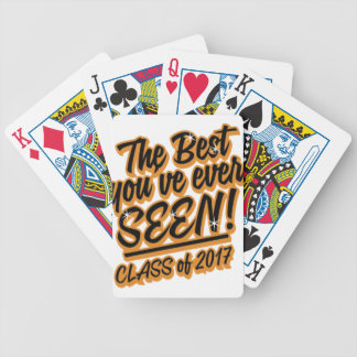 THE BEST YOU EVER SEEN CLASS OF 2017 POKER DECK
