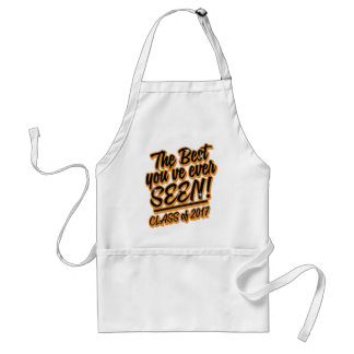 THE BEST YOU EVER SEEN CLASS OF 2017 STANDARD APRON